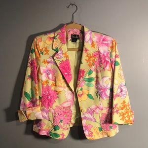 Rafaella Jackets & Coats - Rafaela Lime & Pink Floral Jacket🌸🌸🌸